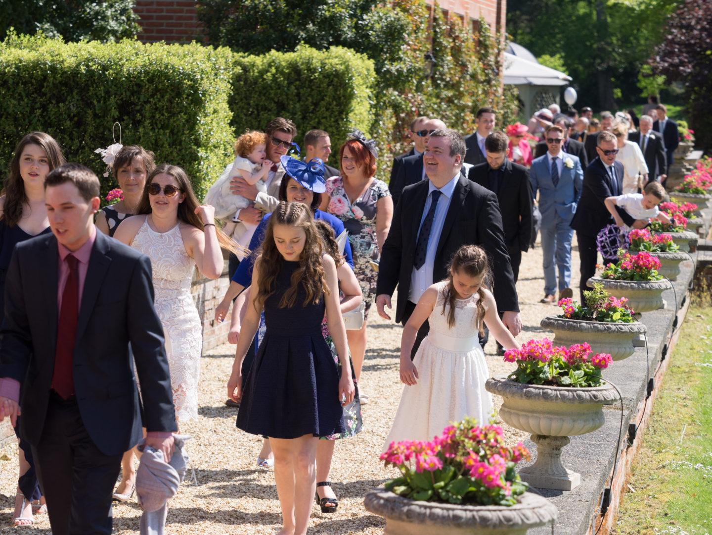 chewton glen wedding guests