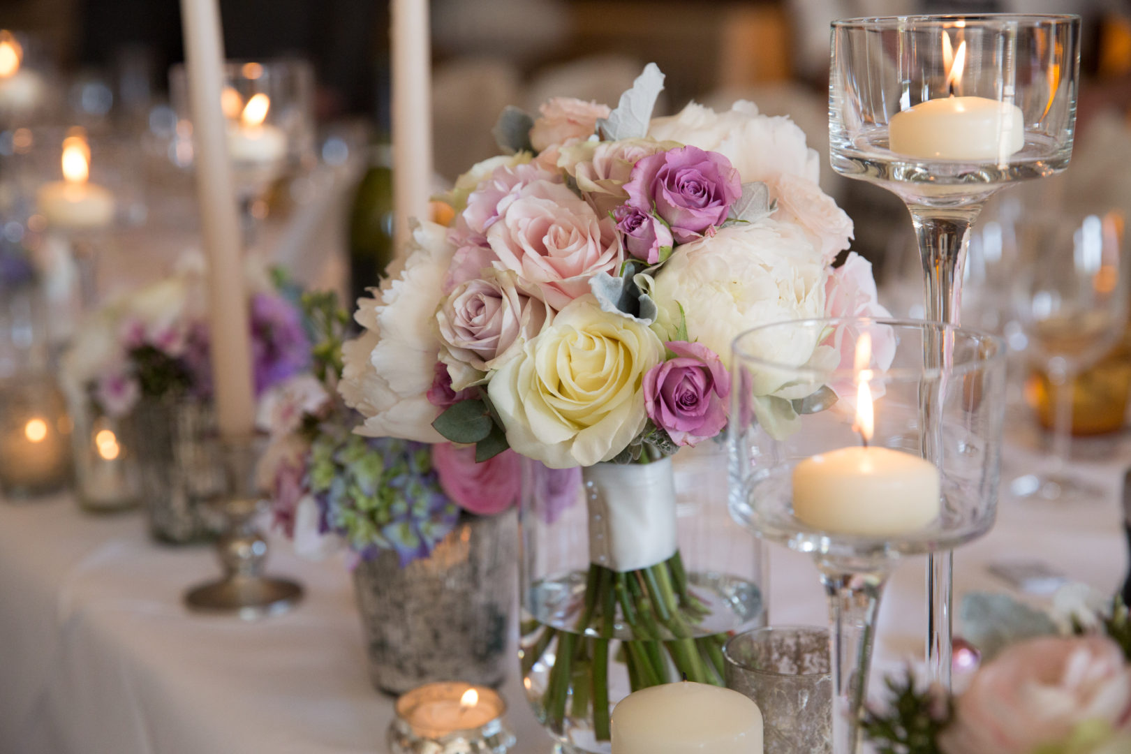 New Forest Wedding Table
