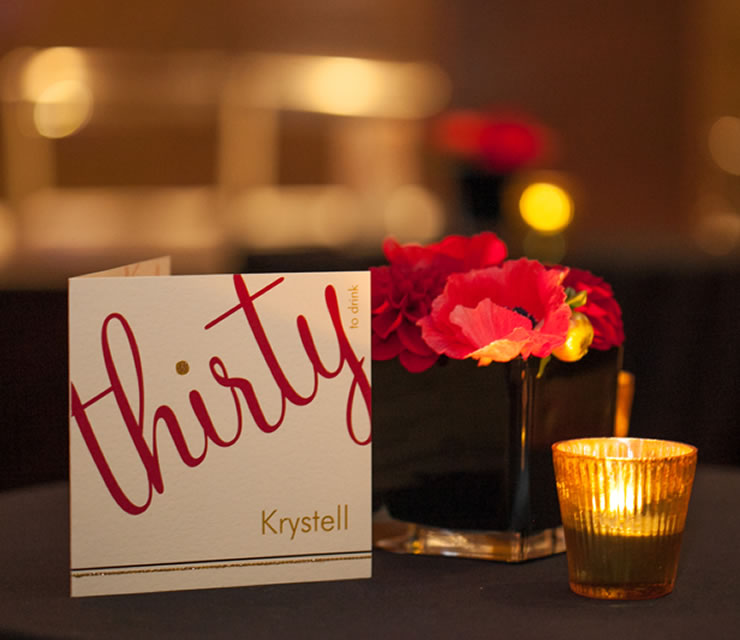 Event for Krystell's 30th