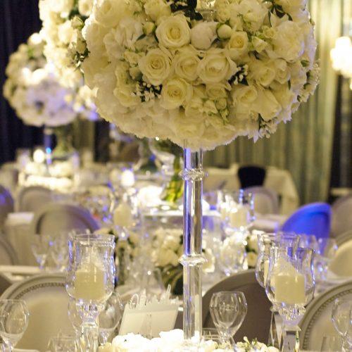 Aimee Dunne wedding table flowers