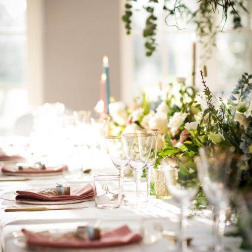 Aimee Dunne wedding dinner