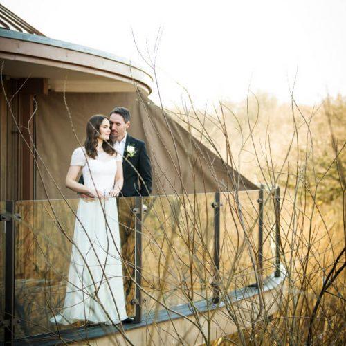 Wedding Bride Groom Treehouse