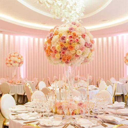 Wedding interior design